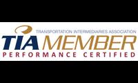 Transportation Intermediaries Association (TIA) Member Performance Certified logo