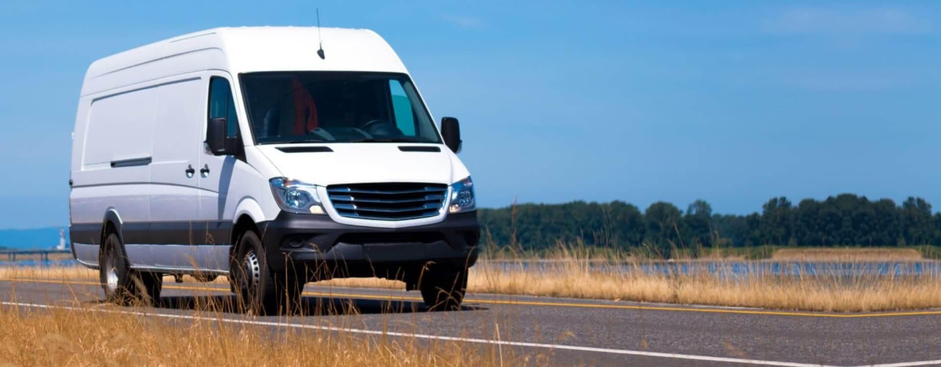 Small cargo van