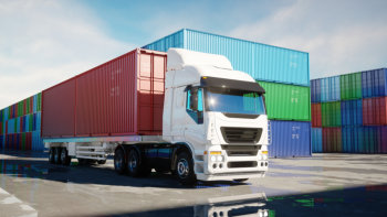 truck and container vans